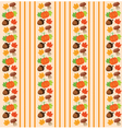 pattern fall vector image vector image