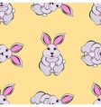 Rabbit sketch vector image