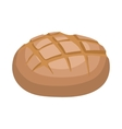 Rye bread icon cartoon style vector image vector image