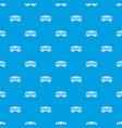 train cargo wagon pattern seamless blue vector image vector image