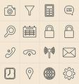 Digital Marketing Line Icons vector image