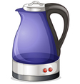 An electric kettle vector image