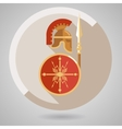 Ancient Warrior Icon vector image vector image