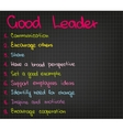 Best leader vector image vector image