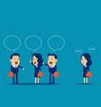 business people meeting and talk concept business vector image vector image