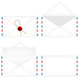 Envelope set vector image vector image