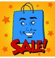 Gift pack face sale vector image vector image