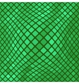 Green Diagonal Square PatternBackground vector image