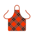 Kitchen apron cooking chef uniform protective vector image vector image