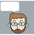 Man Talk vector image vector image