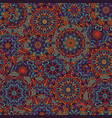 mandala stylized print template for fabric vector image