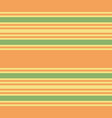 retro green and orange horizontal stripes vector image vector image
