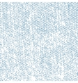 Seamless white jeans texture vector image