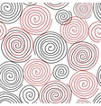 Spiral seamless pattern background vector image vector image