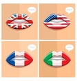 Study languages concept vector image vector image