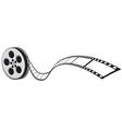 cinema projector and film strip vector image