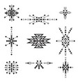 tribal collection vector image