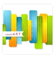 Abstract colorful stripes modern background vector image vector image