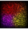 Background from pieces of squares vector image vector image