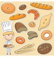 Baker vector image vector image