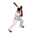 Baseball 2016 Championship 3D Isometric vector image vector image