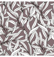 branches hand drawing seamless pattern for vector image vector image