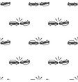 car crash seamless pattern vector image