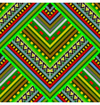 colorful striped tribal seamless pattern vector image vector image