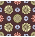 Ethnic floral seamless pattern7 vector image