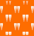 flippers pattern seamless vector image vector image
