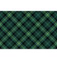 gordon tartan fabric texture check pattern vector image vector image