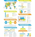 INFOGRAPHIC DEMOGRAPHIC ELEMENTS NEW TOY vector image vector image