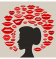 Kiss2 vector image vector image