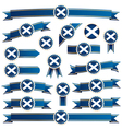 Scotland ribbons vector | Price: 3 Credits (USD $3)
