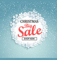 concept of christmas big sale vector image