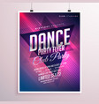 Dance club party flyer template