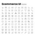 ecommerce app and web ui icon set
