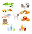good and bad food for healthy teeth