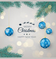 happy new year background for seasonal greetings vector image