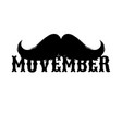 moustaches movember clipart black isolated vector image vector image