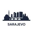 Sarajevo Emblem vector image