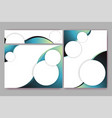 abstract elegant banners set of templates for eb vector image