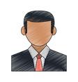 businessman avatar portrait icon image vector image vector image