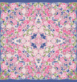 elegant square pink abstract pattern vector image vector image