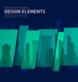 modern abstract geometry background for investment vector image vector image