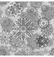 ornate floral seamless texture endless pattern vector image vector image