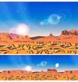 Planet Landscape vector image