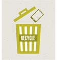 recycle concept design vector image