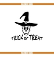 Trick Or Treat Badge vector image vector image