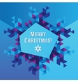 Business greeting christmas and New year card vector image vector image